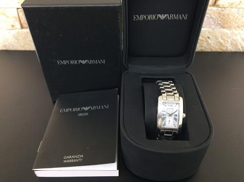 エンポリオアルマーニ レディース時計 ステンレス シェル文字盤 付属品完備 京都北山店 アルマーニ買取 ブランド時計売却