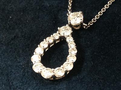 ハリーウィンストン(HARRY WINSTON)ループバイハリーウィンストン プラチナ ダイヤモンド