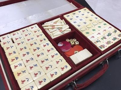 骨董品 象牙 麻雀牌 中国 高価買取 出張買取
