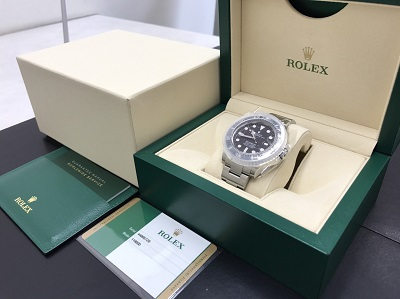 ROLEX ロレックス シードゥエラー4000 Ref.116600 腕時計 美品 高価買取 七条店