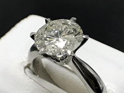 ダイヤモンド 2.08ct リング Pt900 プラチナ 宝石 高価買取 七条店