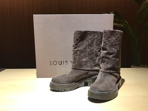ルイ・ヴィトン(LOUIS VUITTON) ブーツ スエード #37.5 北山 買取