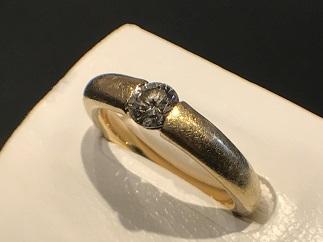ダイヤモンドリング K18 0.304 貴金属 アクセサリー ジュエリー買取 福岡 天神 博多