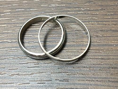 プラチナ リング 指輪 Pt900 地金 貴金属_ジュエリー