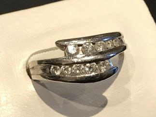 ダイヤモンドリング プラチナ 0.5カラット ジュエリー買取 宝石買取 福岡 天神 博多