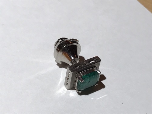 タイタック Pt900 エメラルド 宝石 北山 買取