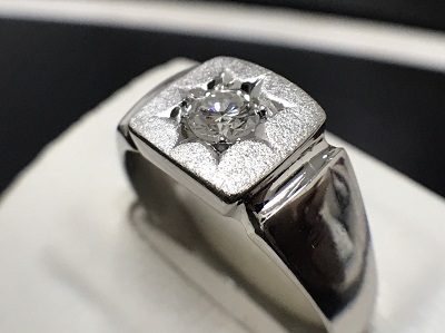 ダイヤモンド 0.29ct リング Pt850 プラチナ 宝石 高価買取 七条店
