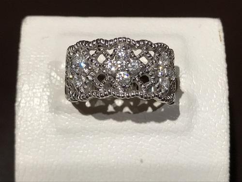 宝石 プラチナ 指輪 ダイヤモンド(DIAMOND)ジュエリー