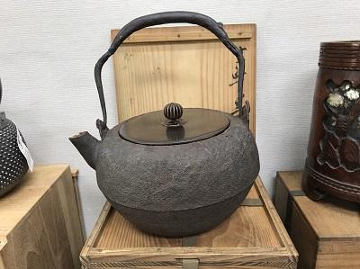 鉄瓶買取 作者知らず 骨董品買取MARUKA 心斎橋店