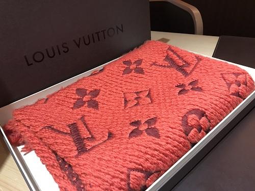 ルイヴィトン(LOUIS VUITTON)マフラー エシャルプロゴマニア テキスタイル ブランド