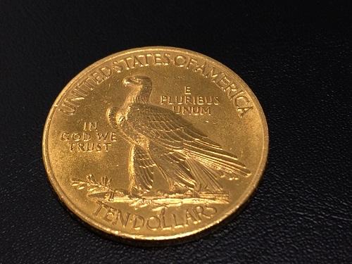インディアン コイン 金貨 K21.6 貴金属 900/1000 資産 高純度 16.7g 京都北山店 金貨買取 コイン売却