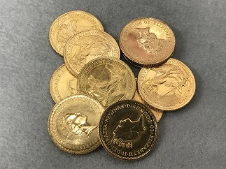ブリタニア金貨 K22 3.3g 10枚 金買取 福岡 天神 博多