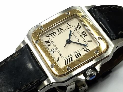 カルティエ(Cartier) サントス買取 時計買取MARUKA 心斎橋店