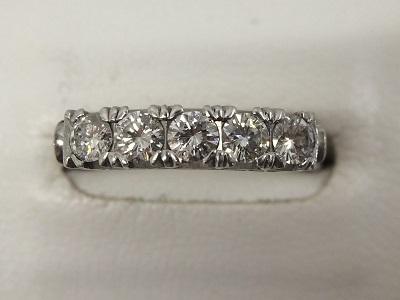 ダイヤリング Pt900 0.56ct 宝石 北山 買取