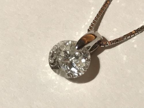 プラチナPT900ダイヤモンドネックレス1.05ctジュエリー買取渋谷