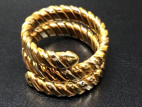18金 指輪 750 リング K18 アクセサリー レディーズ 貴金属 京都北山店 ジュエリー買取 「金」売却