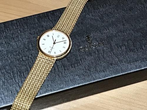 コルム CORUM メンズウォッチ 時計 K18 金無垢 ウォッチ ブランド