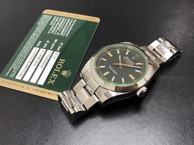ROLEX ロレックス ミルガウス Ref.116400GV 腕時計 箱無し 高価買取 七条店
