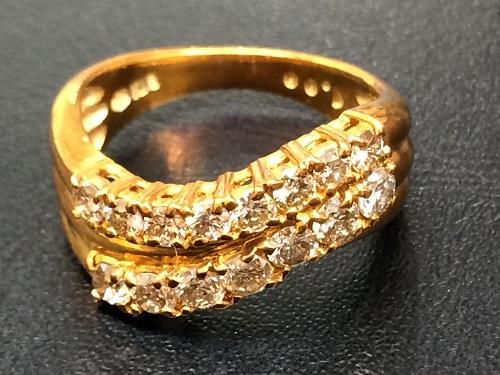 ダイヤモンドリング 18金 K18 宝石 1ct 貴金属 ジュエリー アクセサリー 750 京都北山店 ダイヤ買取 宝石売却