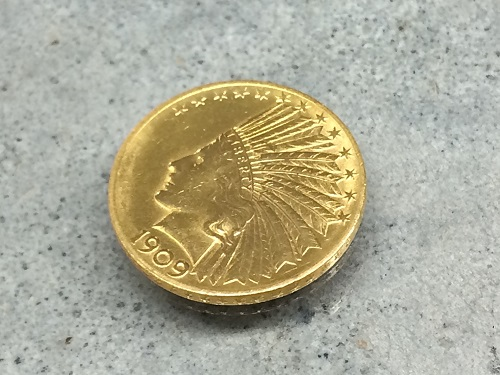 インディアン コイン 金貨 K21.6 貴金属 資産 16.7g 京都北山店 金貨売却 金売るならマルカ!