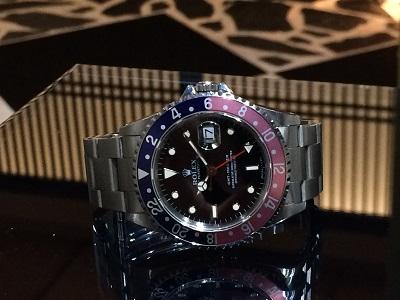 ロレックス(ROLEX)GMTマスターⅠ Ref.16700 ペプシベゼル 高価買取!
