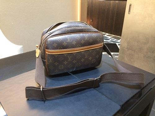 ルイヴィトン Louis Vuitton リポーターPM モノグラム M45254 宅配買取 東京