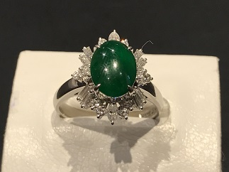 指輪 ダイヤモンド プラチナ ジュエリー 宝石買取 査定 質屋 福岡 天神 博多