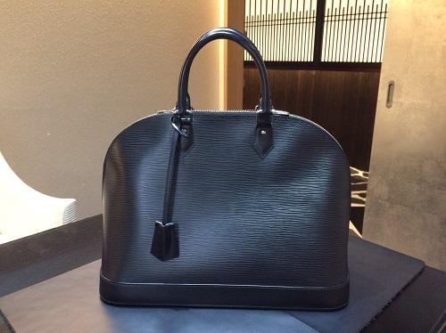 ルイヴィトン Louis Vuitton アルマGM エピ ブラック M40452 買取 銀座