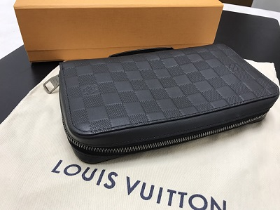 LOUIS VUITTON ルイヴィトン ジッピーXL アンフィニ N61254 美品 高価買取 宅配買取