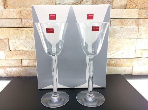 バカラ(baccarat) ワイングラス クリスタル 未使用品 箱付 ブランド食器 京都北山店 バカラ買取