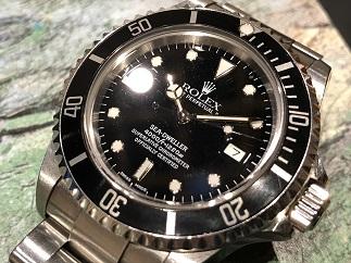ROLEX ロレックス シードゥエラー Ref.16600 保証あり 時計買取 質屋 福岡 天神 博多