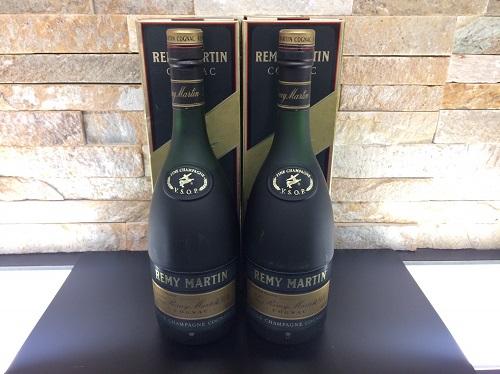 レミーマルタン VSOP 700ML ブランデー 洋酒 2本 箱付 未開封品 京都北山店 お酒買取 ブランデー売却