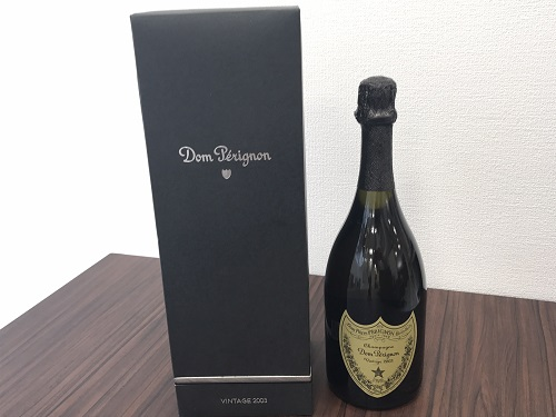 ドンペリニヨンヴィンテージ 2003年 シャンパン 箱付き お酒