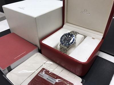 OMEGA オメガ シーマスター プロフェッショナル 300M Ref.2220.80 腕時計 高価買取 七条店