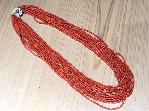 ネックレス 赤珊瑚 サンゴ 整理品 買取 骨董品 買取 東京 渋谷 神奈川 MARUKA