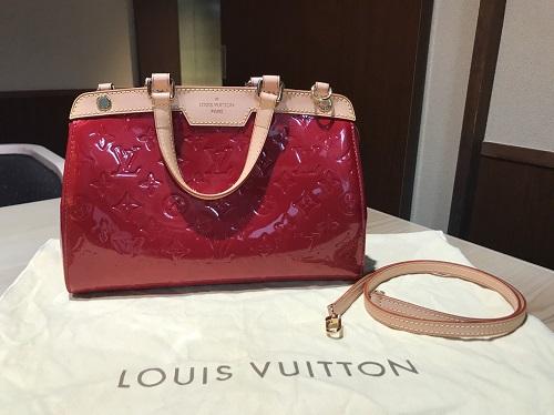 ルイヴィトン Louis Vuitton ブレアPM ヴェルニ M91623 宅配買取