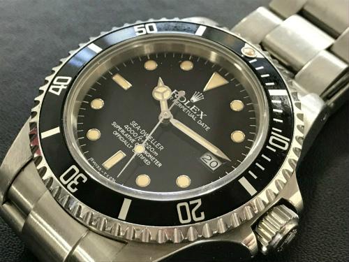 ロレックス(ROLEX) シードゥエラー16660 ステンレス ダイバー時計 京都北山店 ロレックス売却 腕時計買取