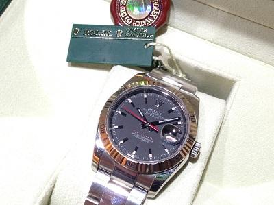 ロレックス ターノグラフRef.116264 生産終了モデル 高価買取 ランダム品番