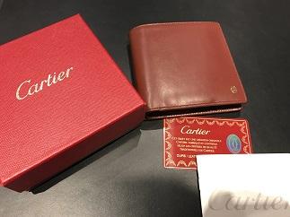 Cartier カルティエ パシャ コンパクト財布 ブランド品買取