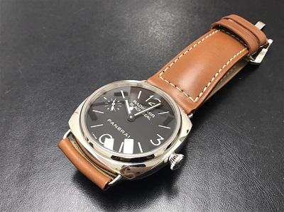 PANERAI パネライ ラジオミール ブラックシール PAM00183 手巻き 腕時計 高価買取 七条店
