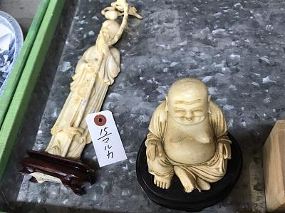 象牙置物 象牙買取 骨董品買取 工芸品買取 MARUKA 心斎橋店