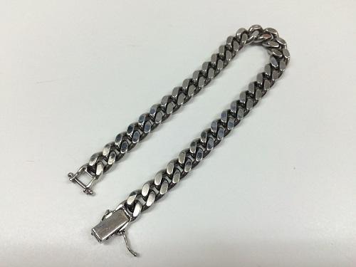 喜平 ブレスレット Pt850 プラチナ 貴金属 70.1g 資産価値 京都北山店 プラチナ買取!