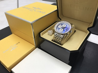 BREITLING ブライトリング ナビタイマー オリンパス A19340 腕時計 美品 高価買取 七条店