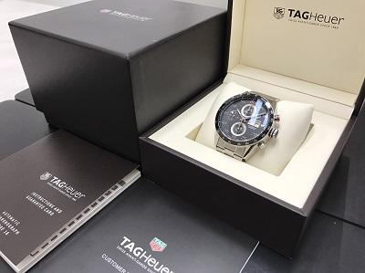 TAG HEUER タグホイヤー カレラ キャリバー16 CV2A10 腕時計 高価買取 宅配買取