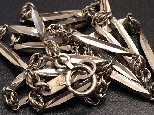プラチナ デザインネックレス Pt850 貴金属 11.2g アクセサリー 京都北山店 プラチナ売却