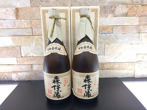 森伊蔵 720ml 箱付 2本 焼酎 お酒 京都北山店