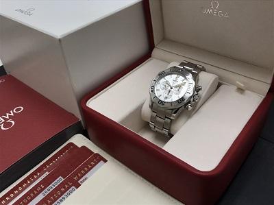 OMEGA オメガ シーマスター クロノグラフ 2589.30 腕時計 高価買取 宅配買取
