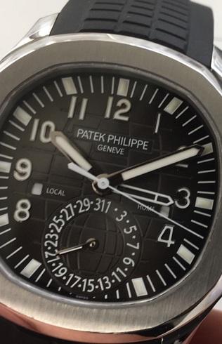 パテックフィリップ(PATEK PHILLIPE)アクアノートトラベルタイムRef.5164A-001