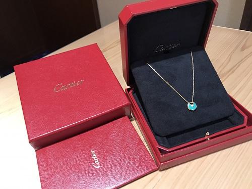 カルティエ Cartier アミュレットドゥカルティエXS ネックレス 1PD 買取 渋谷