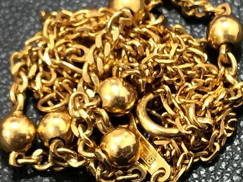 金製品 ネックレス K18 チェーン 8.1グラム 750 貴金属 18金 MARUKA 京都北山店 金の売却